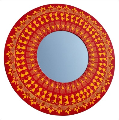 Baar Baar Dekho Warli Decorative Mirror