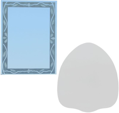 Aruze Boarder Decoration And Coat Of Three Arms Decorative Mirror