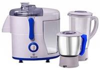 Westinghouse WKJMGSW500 500 W Juicer Mixer Grinder(White, Blue, 2 Jars)