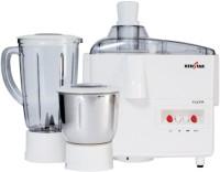 Kenstar KJY50W2A-DBB 500 W Juicer Mixer Grinder(White, 2 Jars)