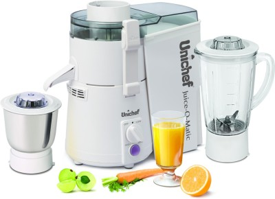 Unichef Juice-O-Matic Plus Xl Series 835W Juicer Mixer Grinder