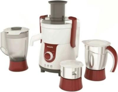 Philips HL 7715 700 W Juicer Mixer Grinder(white, red, steel, 3 Jars)