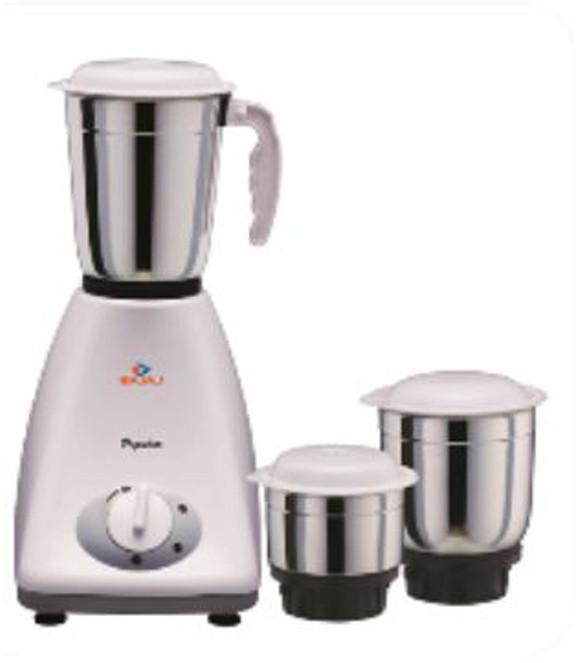 Bajaj Popular 450 W Mixer Grinder(3 Jars)