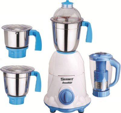 Sunmeet-Effortless-750W-Mixer-Grinder-(4-Jars)