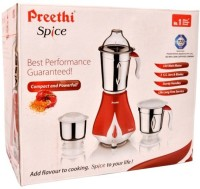 Preethi Spice MG203 550 W Juicer Mixer Grinder(Multicolor, 3 Jars)