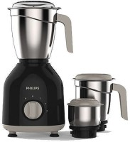 Philips HL 7756 750 W Mixer Grinder(Black, 3 Jars)