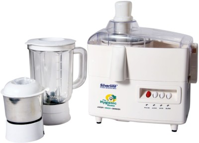 Silverline-Kitchen-Master-500W-Juicer-Mixer-Grinder-(2-Jars)