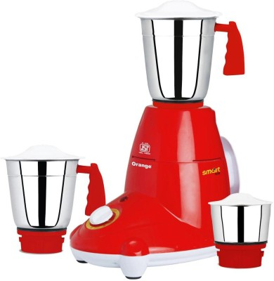Orange-New-Smart-550W-Mixer-Grinder-(3-Jars)