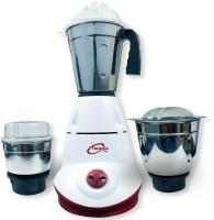 Florentine Homes Eden 650 W Mixer Grinder(White & Cherry, 3 Jars)