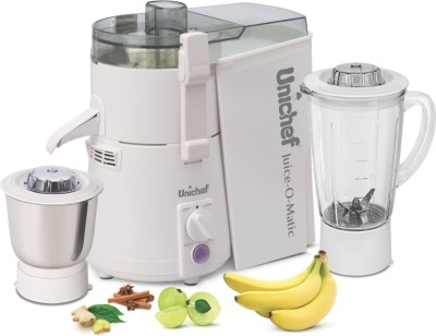 Unichef Juice-O-Matic Plus SM Series 835W Juicer Mixer Grinder