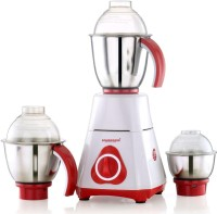 SOWBAGHYA MAGIC 750 W Mixer Grinder(WHITE AND RED, 3 Jars)