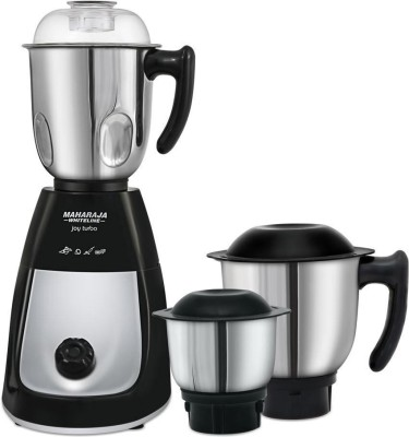 Maharaja Whiteline Joy Turbo 750W Juicer Mixer Grinder (3 Jars)