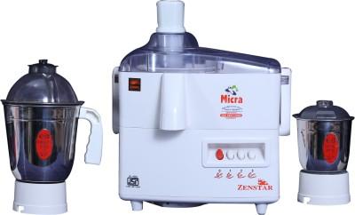 Zenstar Micra 400 W Juicer Mixer Grinder