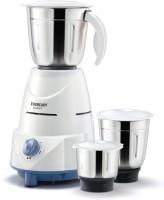 Eveready Glowy 500 W Mixer Grinder(White, Blue, 3 Jars)