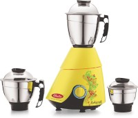 Bala richie rich 3 jar 1000 W Mixer Grinder(Yellow, 3 Jars)