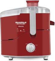 Maharaja Whiteline Desire 550 W Juicer(Red, Silver)