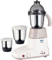 Boss Magic 550 W Mixer Grinder(Ivory, 3 Jars)
