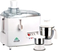 Max Well MMG200 450 W Juicer Mixer Grinder(White, 2 Jars)