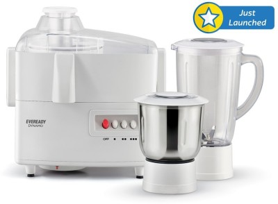 Eveready Dynamo 450 W Juicer Mixer Grinder (2 Jars)