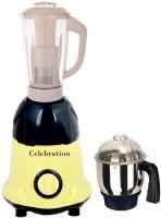 Celebration Latest Jar attachments of chutney & juicer jarType-58 750 W Juicer Mixer Grinder(Multicolor, 2 Jars)