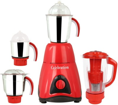 Celebration MG16-637 4 Jars 750 W Juicer Mixer Grinder