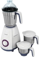 Philips HL 7699/00 750 W Mixer Grinder(White, 3 Jars)