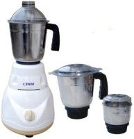 Cinni MG 550 W Mixer Grinder(White, 3 Jars)