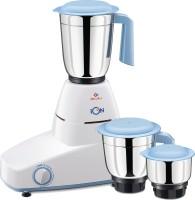 Bajaj Ion Majesty 500 W Mixer Grinder(White & Blue, 3 Jars)