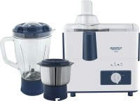 Maharaja Whiteline CLEO (JX-115) 450 W Juicer Mixer Grinder(White, Blue, 2 Jars)