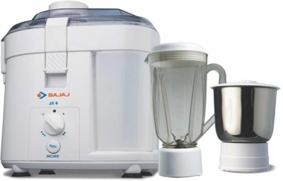 Bajaj Majesty JX6 450 W Juicer Mixer Grinder