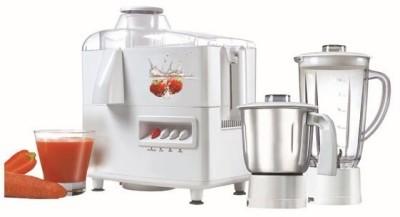 Prestige JMG 02 500 W Juicer Mixer Grinder(White, 2 Jars)