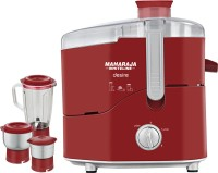 Maharaja Whiteline JX-210 550 W Juicer Mixer Grinder(3 Jars)