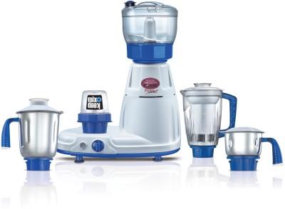 Prestige Delux Total Ls 750 W Juicer Mixer Grinder(White, Blue, 5 Jars)
