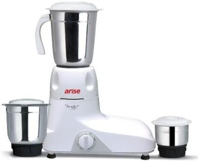 Arise Super Max 550 Watt 550 W Mixer Grinder (White, 3 Jars)