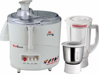 VOLTGUARD 600 WATTS DESIRE PLUS 600 W Juicer Mixer Grinder(White, 2 Jars)