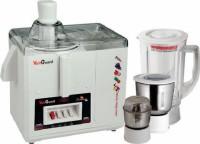 VOLTGUARD 750 WATTS PREMIUM PLUS 750 W Juicer Mixer Grinder(White, 3 Jars)