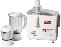 Ginni Plus K 1011 600 W Juicer Mixer Grinder(Off White,cream, 2 Jars)