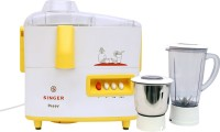Singer Peppy DX 500 W Juicer Mixer Grinder(Yellow, 2 Jars)