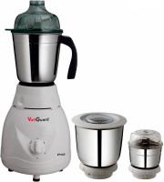 ACTIVA PLUTO PLUS 550 W Mixer Grinder(White, 3 Jars)