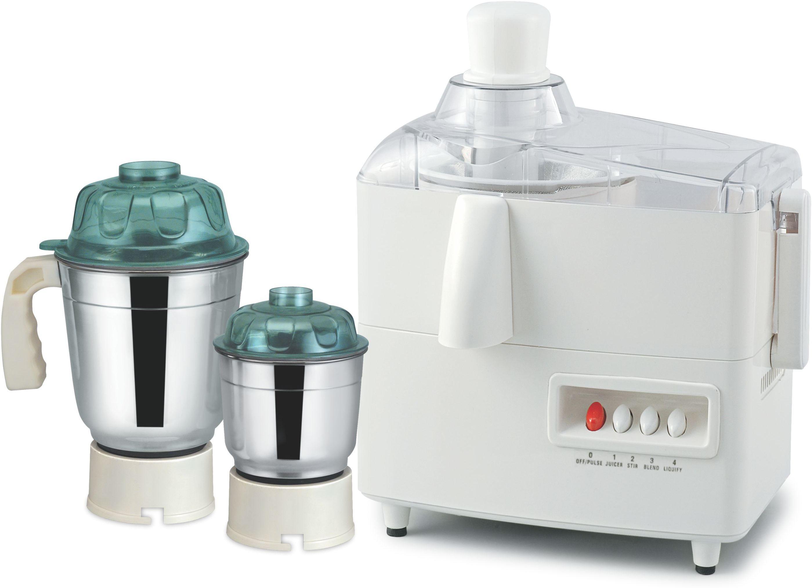 Sunny MARK01 500 W Juicer Mixer Grinder(White, 2 Jars)