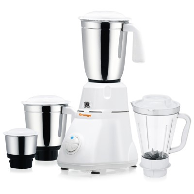 Orange-Evon-550W-Mixer-Grinder-(4-Jars)