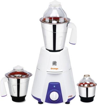 Orange-Elina-550W-Mixer-Grinder-(3-Jars)