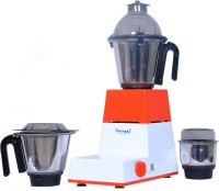 Sumeet Domestic-XL3 550 W Mixer Grinder(Red, White, 3 Jars)