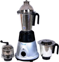 Sumeet Domestic Plus 2015 750 W Mixer Grinder(Grey, Black, 3 Jars)