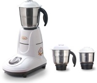 Cinni Power MAC - ZLX 750 W Mixer Grinder(White, 3 Jars)