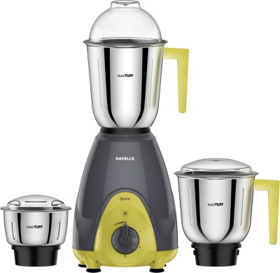Havells Sprint 500W Mixer Grinder (3 Jars)