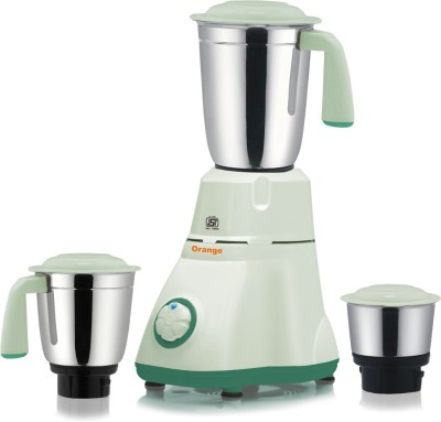 Orange-Easio-550W-Mixer-Grinder-(3-Jars)