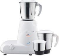 Bajaj GX6 500 W Mixer Grinder(White, 3 Jars)