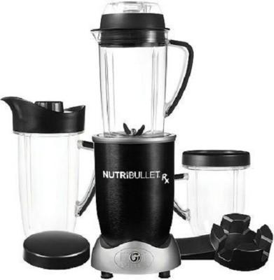 NutriBullet RX Blender 10-Piece Set 1700 W Juicer Mixer Grinder(Black, 3 Jars)