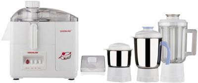 Greenline Jmg-125 550 W Juicer Mixer Grinder(White, 3 Jars)